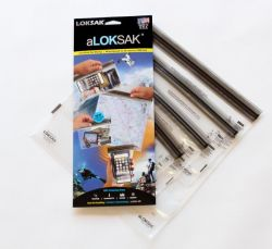 aLOKSAK 4 Pack Assorted Size Dry Bags up to 12x12 inch