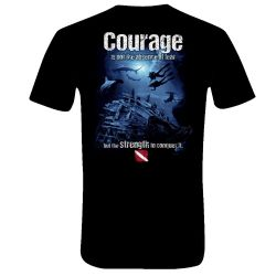 Amphibious Outfitters Courage T-Shirt