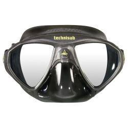 Aqua Lung Micromask Dive Mask - Black/Black