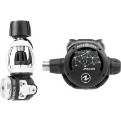 Aqua Lung Mikron Environmentally-Sealed Scuba Regulator - Yoke