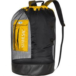Stahlsac Bonaire Mesh Backpack Gear Bag - Yellow
