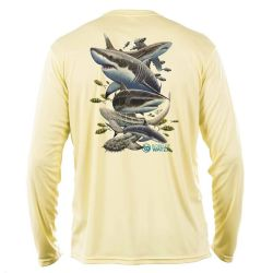 Born of Water Performance Long-Sleeve Shirt- Misunderstood Beauty