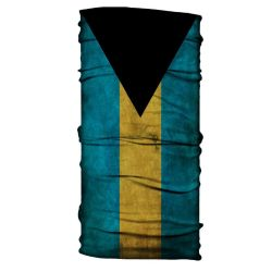 Born of Water Neck Gaiter - Bahamas Flag