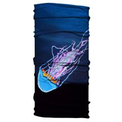 Born of Water Neck Gaiter - Jellyfish vs Anglerfish
