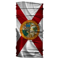 Born of Water Neck Gaiter - State of Florida Flag