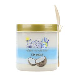 Florida Salt Scrubs Coconut 24.2 oz Jar