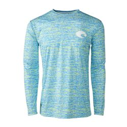 Costa Men's Technical Familia Long-Sleeve Performance Crew