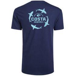 Costa Ocearch Circle Shark Short-Sleeve T-Shirt