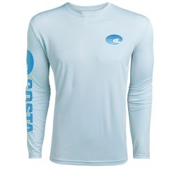 Costa Technical Crew UPF 50+ Long-Sleeve Shirt