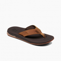 Reef Leather Fanning Low Waterproof Leather Sandals (Men's)