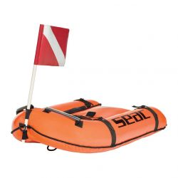 Seac Bounty Inflatable Dive Float - Orange