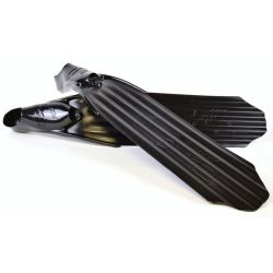 C4 Surfer Freediving Fins with blades and 300 Foot Pockets