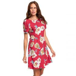 Roxy Hello Cilento Short-Sleeve Dress (Women's)