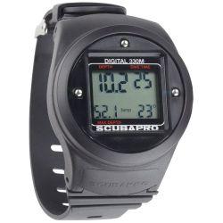 ScubaPro Digital Depth Gauge Wrist Mount