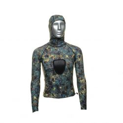 Tilos Spearfishing Shirt With Hood