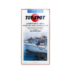 Top Spot Lower Keys Area Map