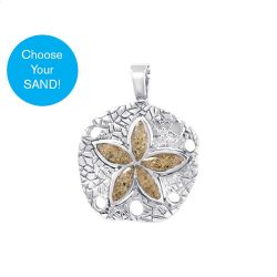 Dune Sterling Silver Sand Dollar Charm
