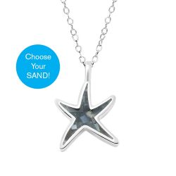 Dune Delicate Starfish Necklace