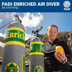 PADI Enriched Air Diver eLearning Online Course