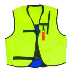 EVO Jacket-Style Snorkel Vest, Yellow, Adult Sizing