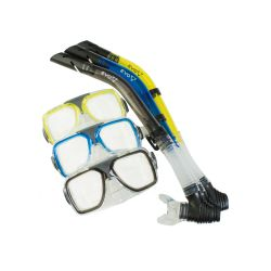 EVO Drift Dual Lens Mask and Semi-Dry Snorkel Combo