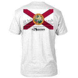 FloGrown Flag Beach Short-Sleeve T-Shirt