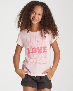 Billabong Girls' Love Love Love T-shirt