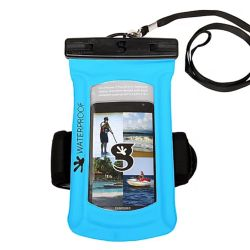 Gecko Float Phone Dry Bag with Armband