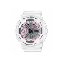 DNU - Casio G-Shock GMAS110 S-Series Analog-Digital Dive Watch (Women's) - White/Pink