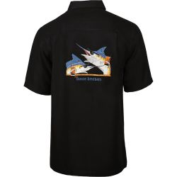 Hook & Tackle Men's Booze Brothers Short-Sleeve Fishing Shirt