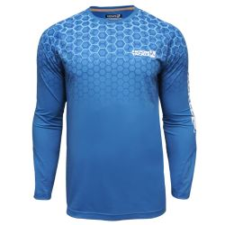 Hook & Tackle Hexagon Performance Long-Sleeve Shirt