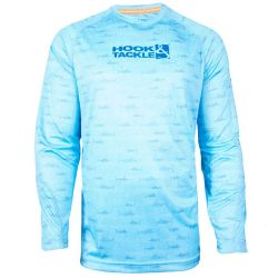 Hook & Tackle Marlin Haze Performance Long-Sleeve Shirt