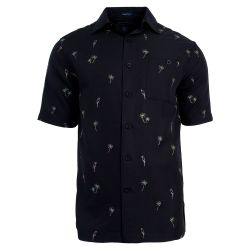 Hook & Tackle Parrot Palms Embroidered Fishing Shirt