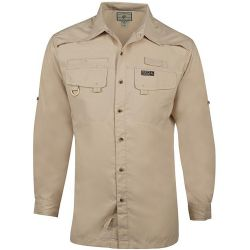 Hook & Tackle Men's Seacliff Long-Sleeve Fishing Shirt