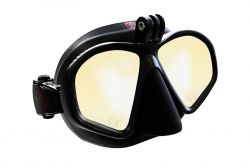 Hammerhead MV3 Action Mask - Yellow Mirror with GoPro Mount