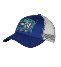 Hook & Tackle Fishing Trucker Hat - Bull Dolphin Shield