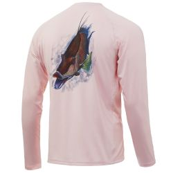 Huk Pursuit Hogzilla Long-Sleeve Performance Shirt