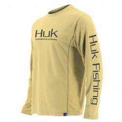 Huk Icon UPF 30+ Long-Sleeve Performance Shirt (Men's)