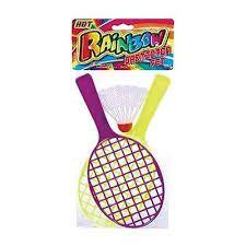 Ja-Ru Rainbow Badminton Set