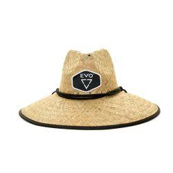 EVO Mens Straw Lifeguard Hat
