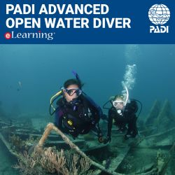 PADI Advanced Open Water Diver eLearning Online Course