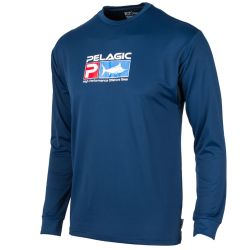 Pelagic Youth Aquatek Long-Sleeve Fishing Shirt