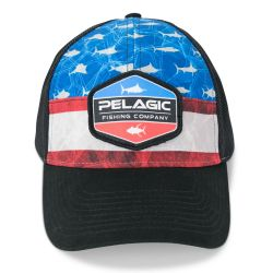 Pelagic Offshore Print Trucker Hat