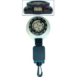Compass & Mini Dive Slate with Retractor