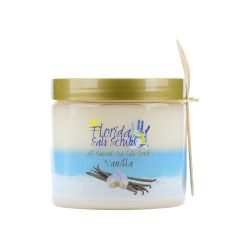 Florida Salt Scrubs Vanilla 12.1 oz Jar